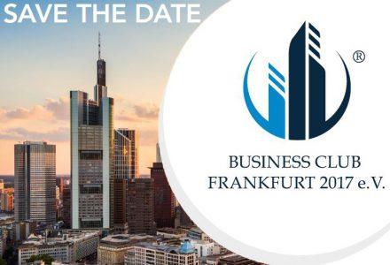 Save the date Frankfurter Businessclub